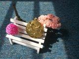 Medallas plateadas oro modificadas para requisitos particulares del fútbol del balompié de la aleación del cinc