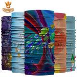 La maschera di protezione promozionale di pesca progetta la sciarpa per il cliente del tubo di stampa di marchio