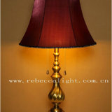 Estilo europeu latão antigo leito Residencial iluminação LED