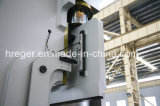 Hydraulische Vouwende Machine met CNC Da65W Delem Controlemechanisme 4 As