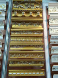Het Afgietsel van de Kroonlijst van de Kroon Moulding/PU van het polyurethaan