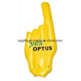 PVC promocional del OEM que anima la mano inflable