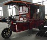 乗客のためのインドの安い電気三輪車