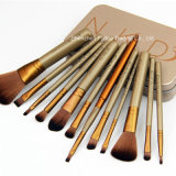 Nake D 3 Brosse de maquillage 12pcs/set Power Brush Professional composent le kit de brosse