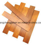 Revestimento de madeira do parquet/folhosa da anti abrasão natural