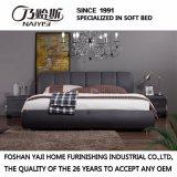 寝室の使用(FB3079)のための黒いカラー革ベッド