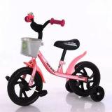 L'acciaio ad alto tenore di carbonio scherza la bici dell'equilibrio con le rotelle di addestramento
