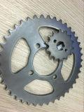 最もよい品質の製造業のオートバイのスプロケットおよび鎖キット