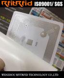 13.56MHz escritura de la etiqueta antirrobo antifalsificación programable de la protección RFID