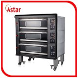 Forno di lusso industriale commerciale del comitato del calcolatore della strumentazione elettrica del forno del forno per il negozio del forno del ristorante da vendere