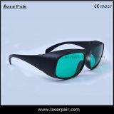 Óculos de proteção da proteção dos vidros de segurança do laser da RTD para o Ce En207 da reunião 630-660nm & 800-830nm