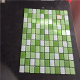 Mosaico De Vidrio Verde, Mosaico De Mosaico Decorativo
