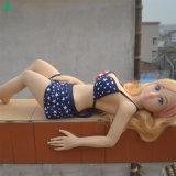 Puppe Jl100-07-1 Minider silikon-Geschlechts-Liebes-Puppe-realistische Liebes-3D