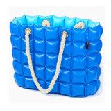 Bolso de mão inflável de bolinha de PVC para praia ou compras