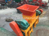 El metal inútil/el coche viejo/el neumático de goma/difícilmente la cortadora plástica, desperdicios reciclan el equipo de planta