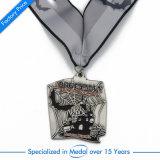名誉の包装の化粧箱のギフトのためのカスタム旧式なTriathlonの銀メダル