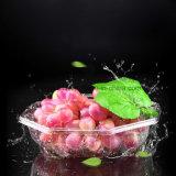 Фрукты уход одноразовые салат лоток восьмиугольной пластиковые свежих фруктов в салоне