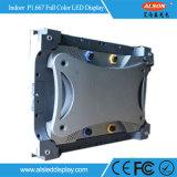 HD P1.667 des kleinen dünne farbenreiche LED Baugruppe Abstand-Innenabendessen-