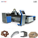 Refrigeración por agua de la cortadora del laser del metal del laser 1500W de la fibra