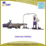 Plastique réutilisant la machine de granulation concasseuse à deux étages d'extrusion de PP/PE
