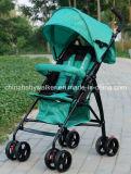 Cochecito de bebé portátil plegable amortiguación Four-Wheel cochecito de bebé