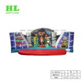 A casa do salto do parque de diversões caçoa a casa de salto inflável