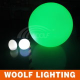 Bille Illuminating colorée de flottement imperméable à l'eau en plastique de DEL