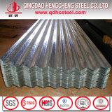 Strato d'acciaio ondulato rivestito del tetto dello zinco di Dx51d