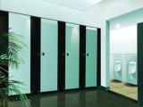 멜라민 수지 취급된 Ventilative HPL 화장실 칸막이실