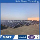 Montaggi solari del tetto piano