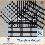 瀝青のアスファルトが付いている自己接着ガラス繊維のGeogridの二軸のコーティング