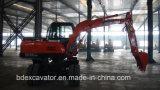 Nuevos pequeños excavadores de la rueda de Baoding con el certificado ISO9001
