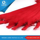 Изготовление застежки -молнии Wenzhou Nylon застежки -молнии высокого качества 5# незримое