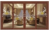 Venta caliente Marco de aluminio Doble Vidrio puerta plegable precio razonable.
