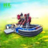 Mini het Springen van het Kasteel van de Dia van Bouncy van Helden Huis Opblaasbare Funcity