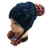 Конструкция Earflap шлема Knit руки 2016 самых новых повелительниц типов коренастая