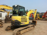 Usado a Yanmar 55 escavadoras a Yanmar Vio55-5b sobre a venda