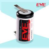Tipo primario batería de la bobina del litio Er14250 Lisocl2 de Eve del cloruro de tionil del litio de las baterías