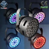 High-Brightness 18X12W RGBWA+UV LED Fase 6 em 1 PAR Luz CAN