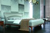 Heiße Verkaufs-Möbel-moderne Form-Wohnzimmer-Möbel/ledernes Bett/Freizeit-Bett