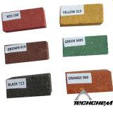 El rojo, amarillo, negro, marrón, verde, naranja, azul del pigmento de óxido de hierro