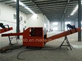 Glasfaser-Ausschnitt-Maschine, die vom Glasineinander greifen-Tuch schier und reibt