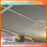 Высокая растяжимая алюминиевая декоративная расширенная ячеистая сеть для фасада
