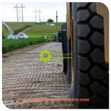 Sofr rieben/temporäre UHMWPE Bodenmatte der schroffen Straßen-für Baum-Abstand