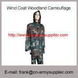 Cappotto poco costoso all'ingrosso del rivestimento del vento M65 del camuffamento del terreno boscoso dell'esercito della Cina