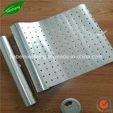 Folha de alumínio churrascos com orifícios