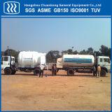 低温学の酸素窒素のアルゴンの液化天然ガスのタンカーのセミトレーラー