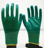 Нитриловые защитные труда рабочие перчатки