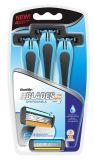 Популярные четыре Staniless стального лезвия для мужчин (SL-6001FL)
