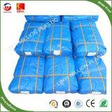Tecidos de polietileno PE folha de plástico reforçado com efeito de estufa ilhós TAMPA DE TOLDO